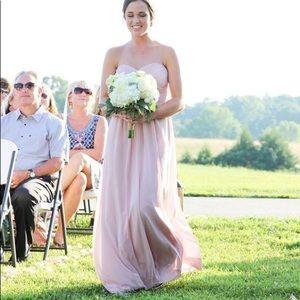 Jasmine dusty rose/pink bridesmaid/formal dress